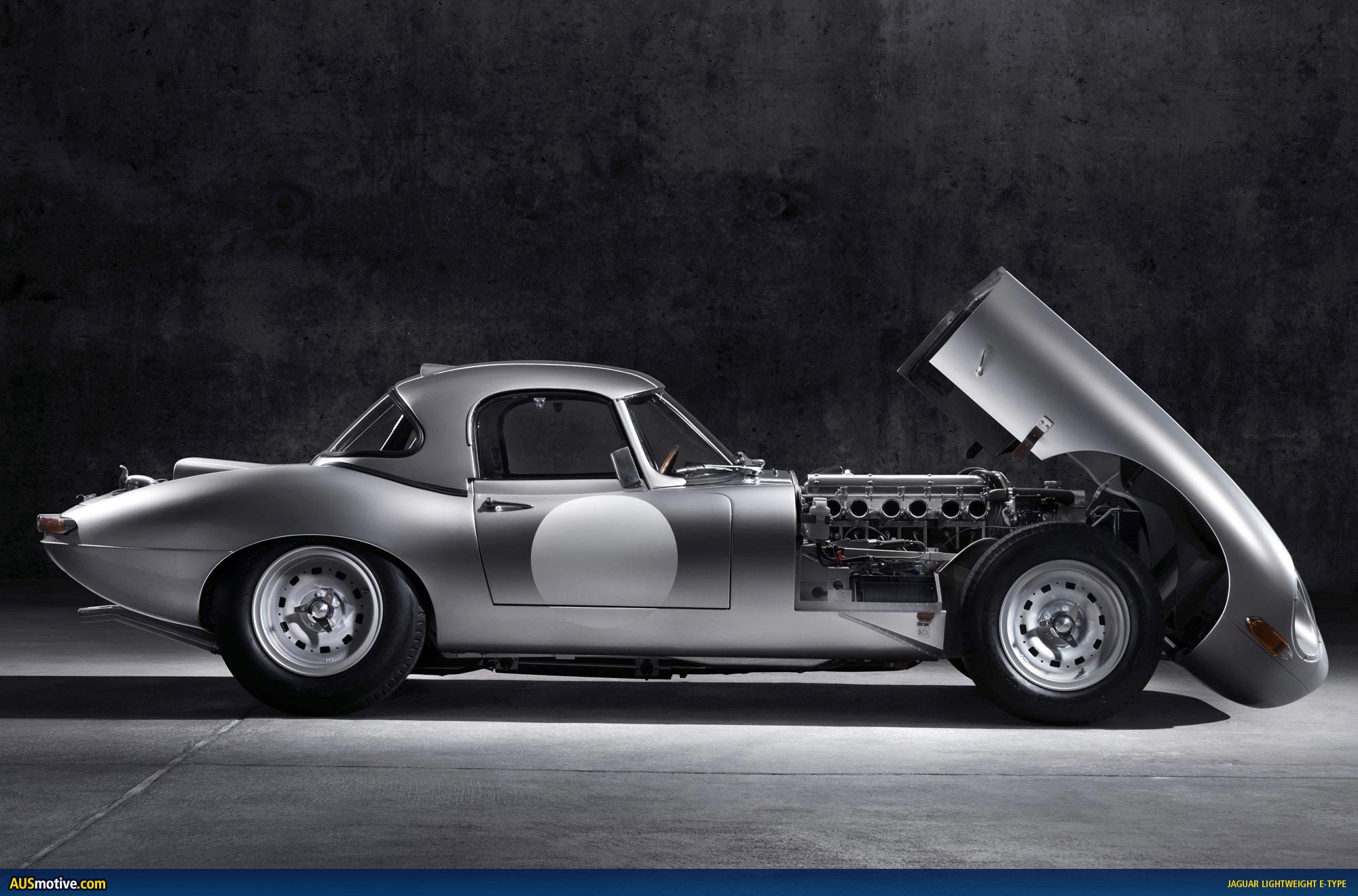 Jaguar E Type >> AUSmotive.com » Jaguar Lightweight E-Type revealed