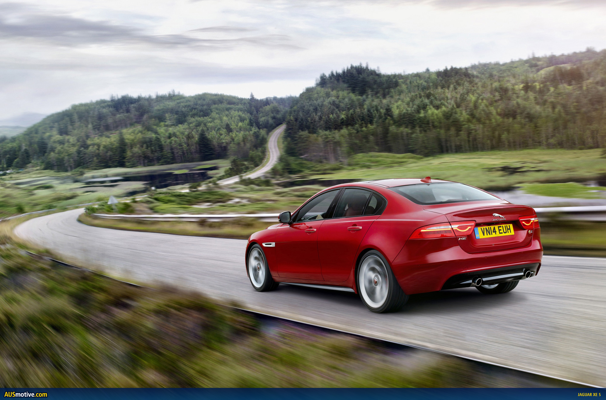 AUSmotive.com » Jaguar XE revealed