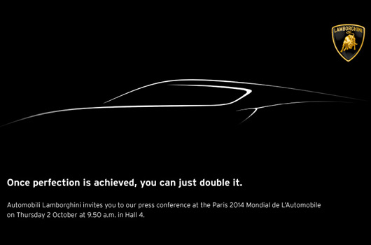 Lamborghini four-seater teaser
