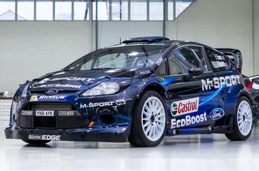 2014 M-Sport Ford Fiesta RS WRC