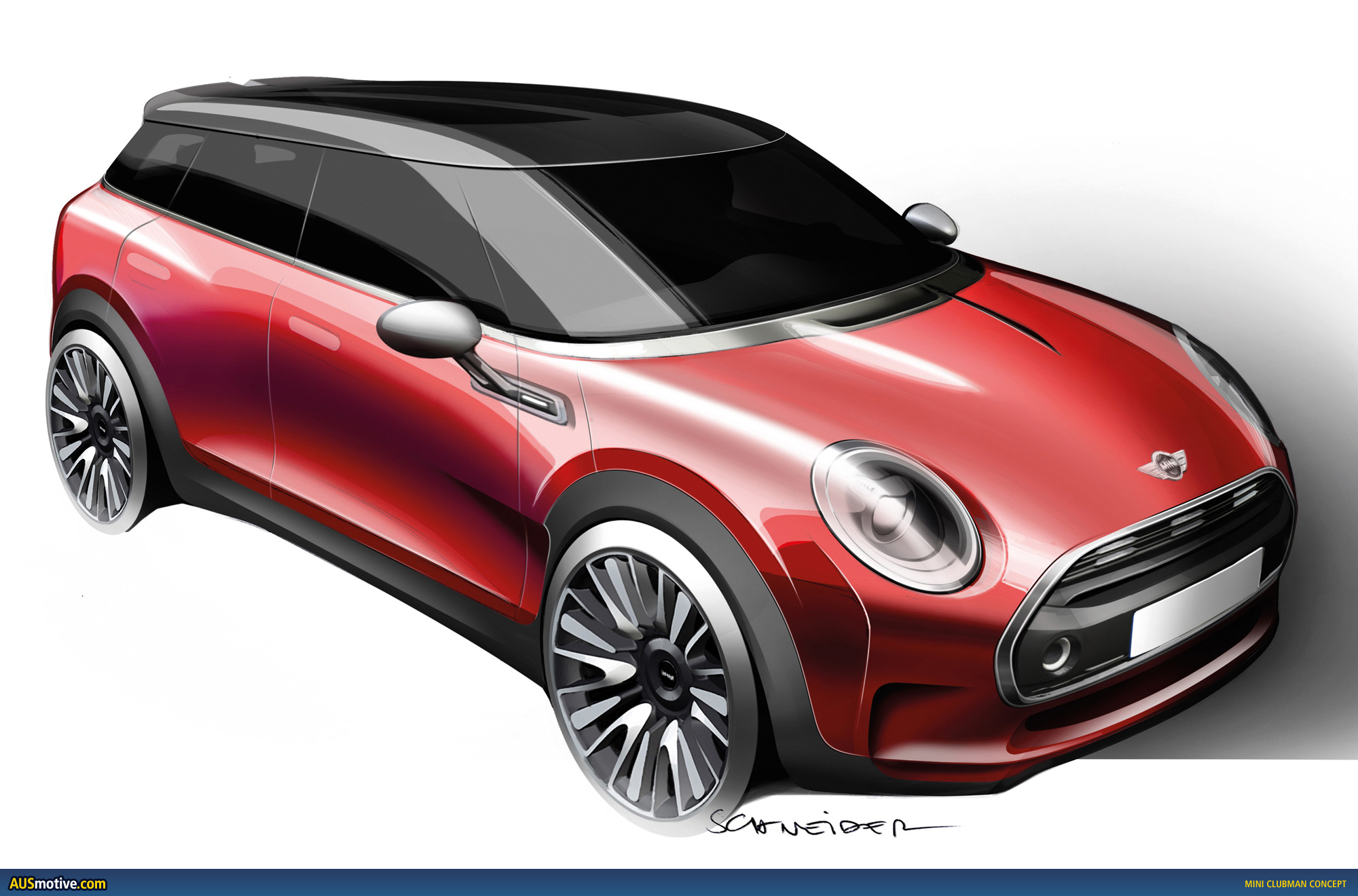 mini clubman concept revealed. Black Bedroom Furniture Sets. Home Design Ideas