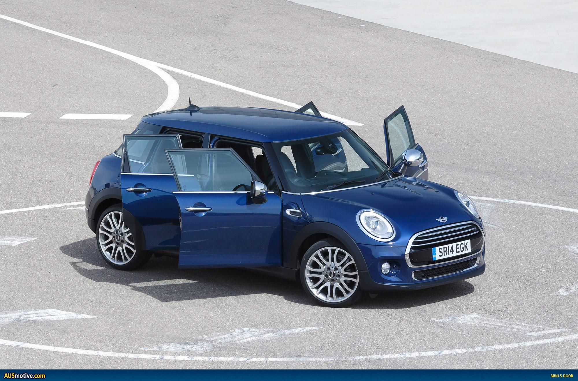 Mini Cooper Models >> AUSmotive.com » MINI 5 door revealed