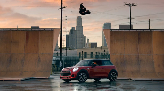 MINI JCW with Tony Hawk and Guerlain Chicherit