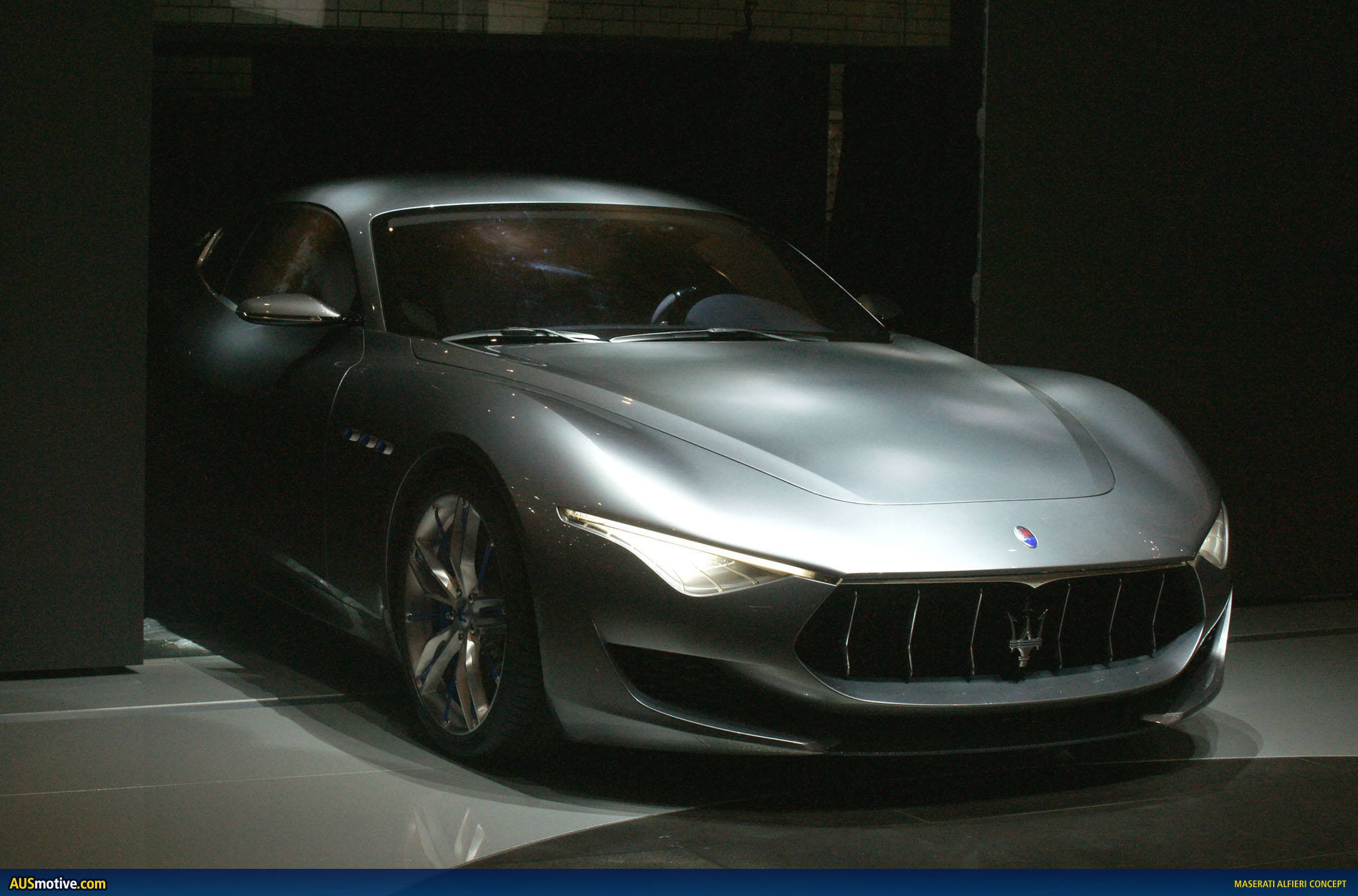 How Much Are Maseratis >> AUSmotive.com » Maserati Alfieri concept
