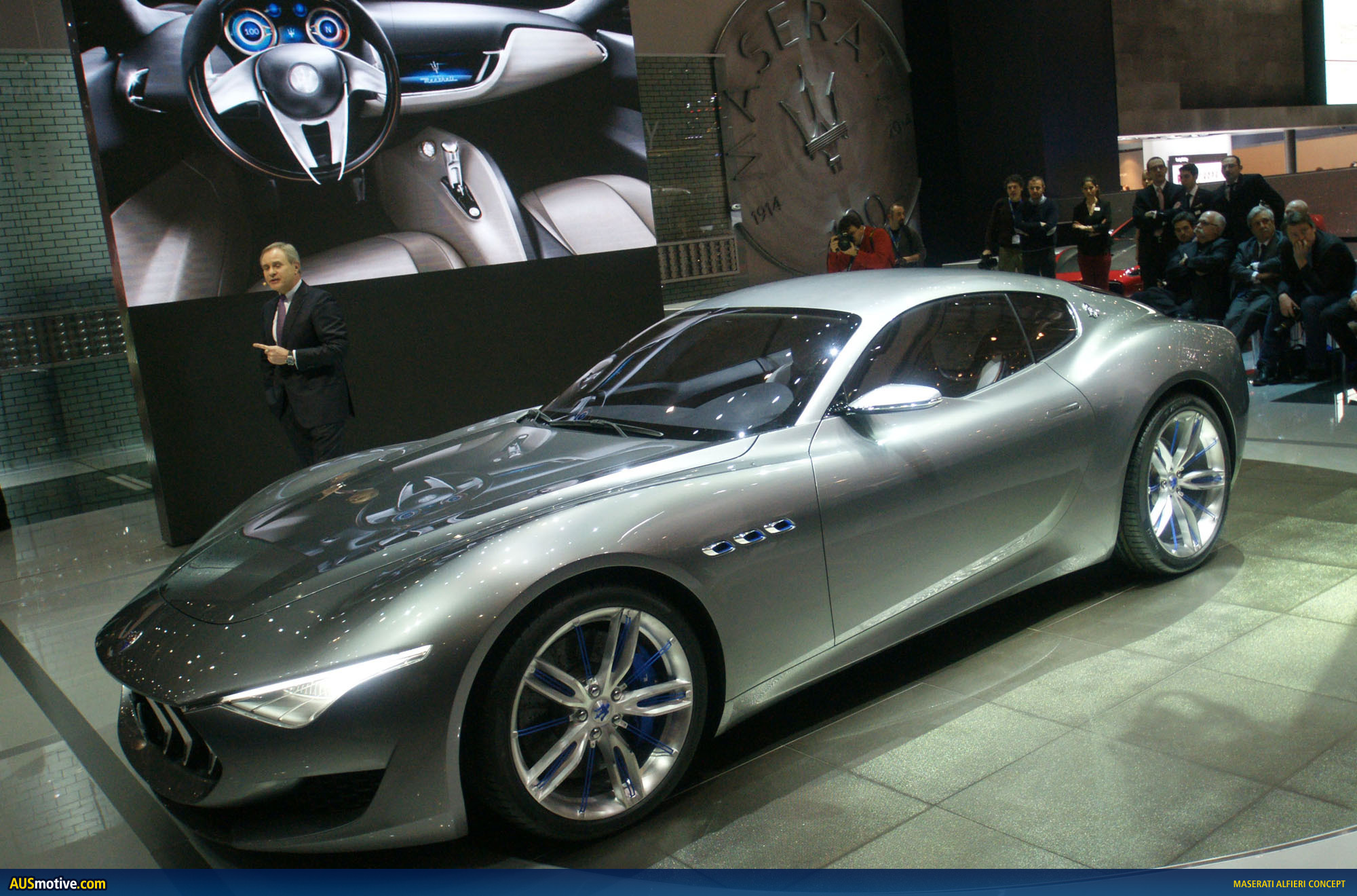 maserati alfieri concept. Black Bedroom Furniture Sets. Home Design Ideas