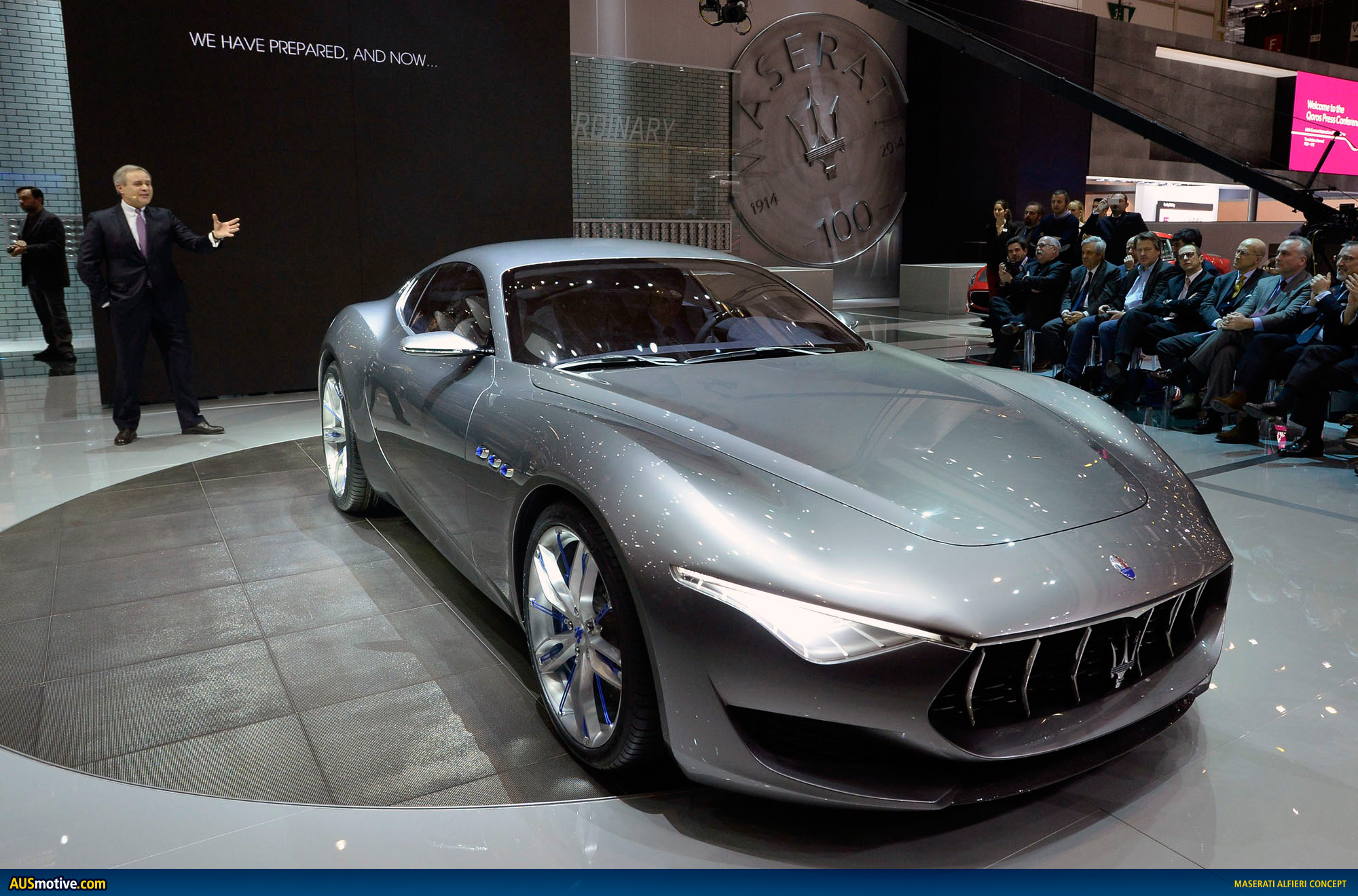 How Much Are Maseratis >> AUSmotive.com » Maserati Alfieri concept