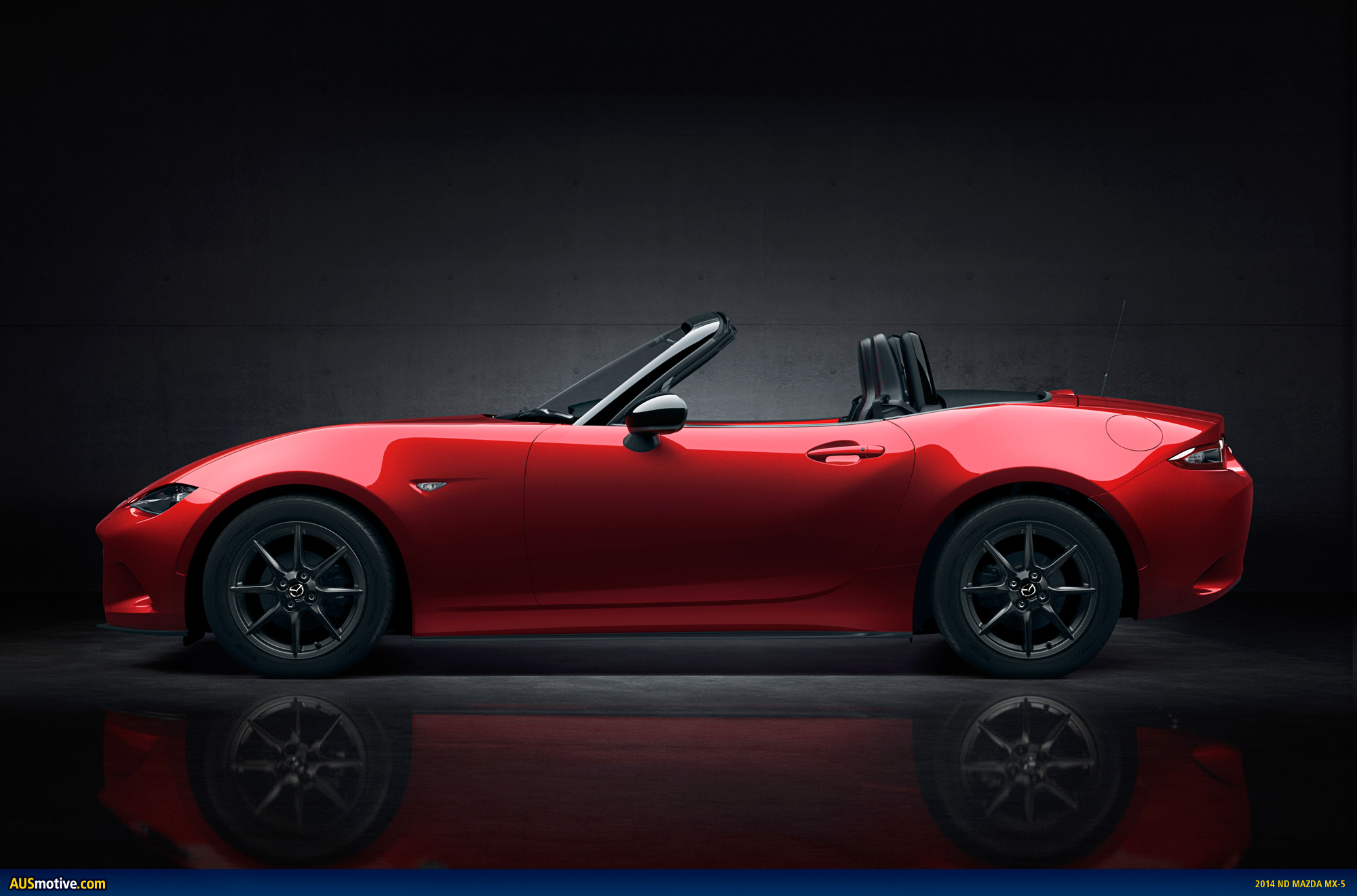 fourth generation mazda mx 5 revealed. Black Bedroom Furniture Sets. Home Design Ideas