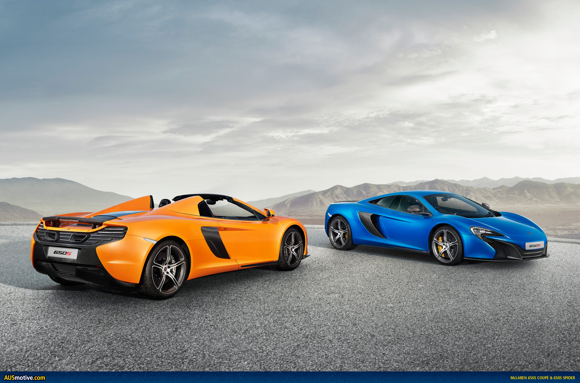 How Much Does A New Transmission Cost >> AUSmotive.com » Geneva 2014: McLaren 650S & 650S Spider