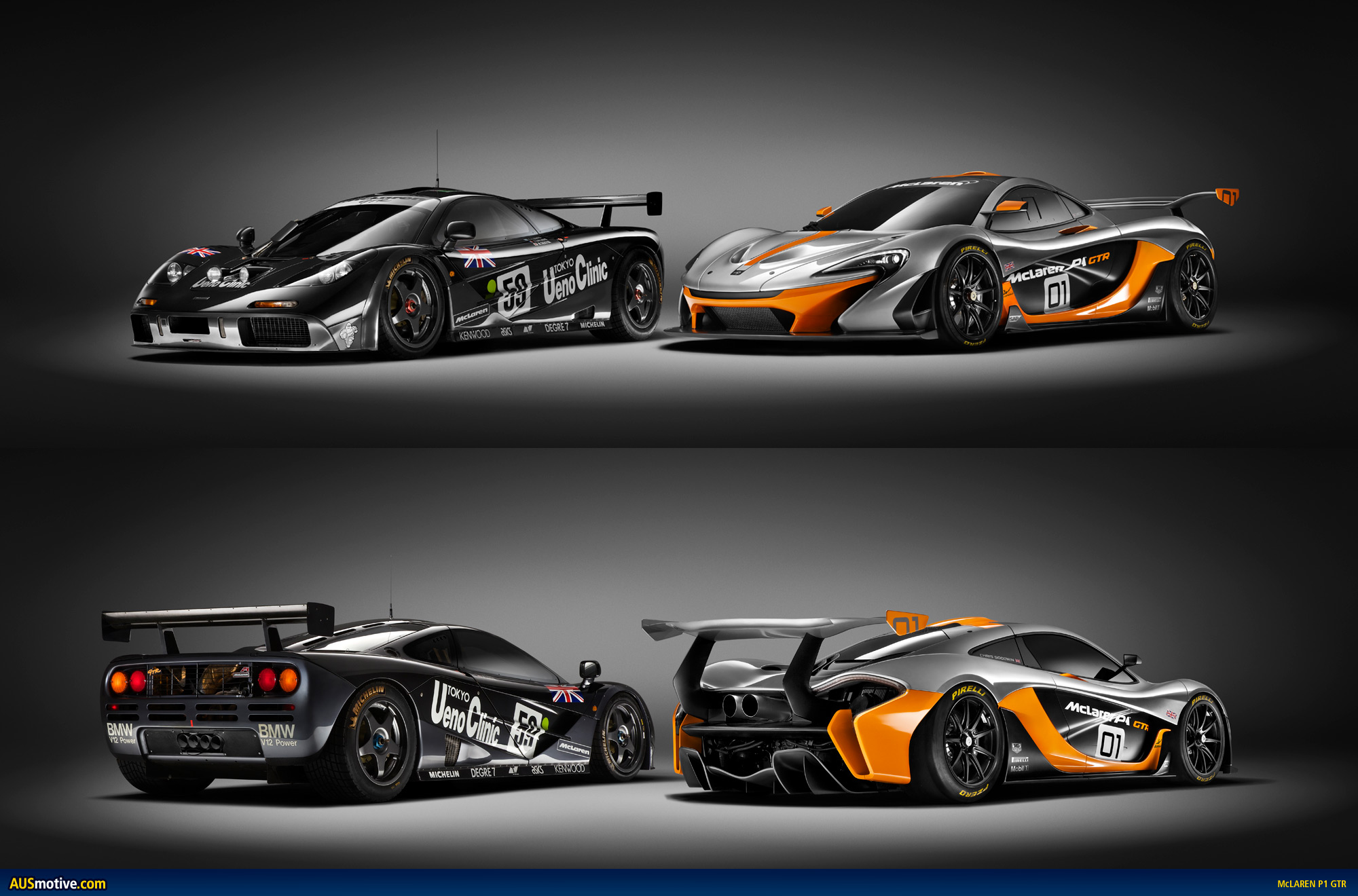 mclaren p1 gtr design concept revealed. Black Bedroom Furniture Sets. Home Design Ideas