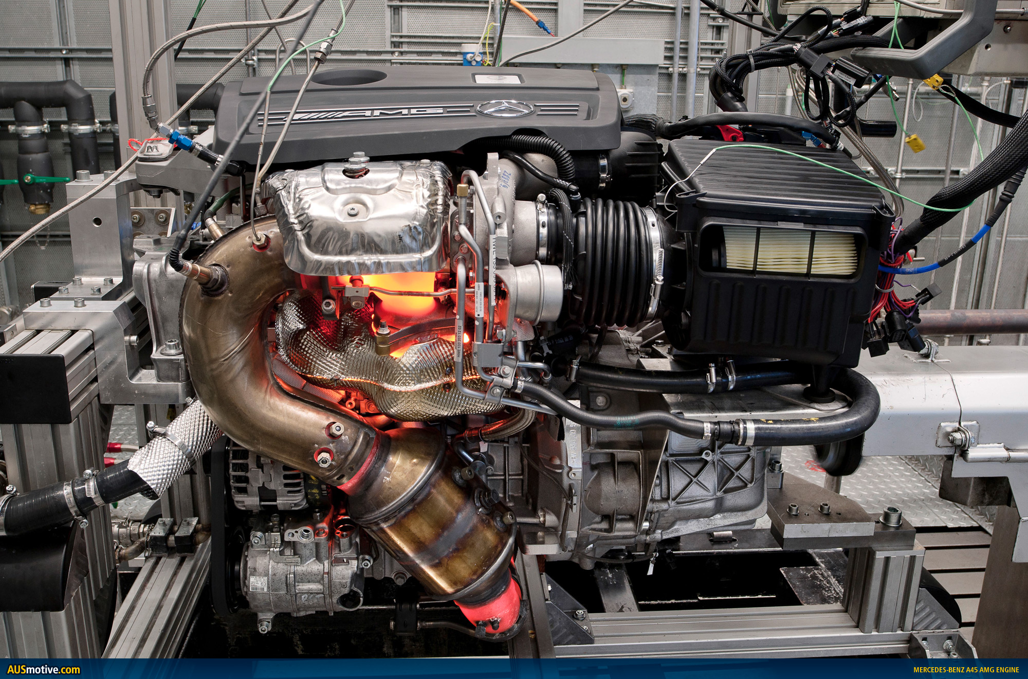 Mercedes a45 amg engine size for Mercedes benz engines specifications