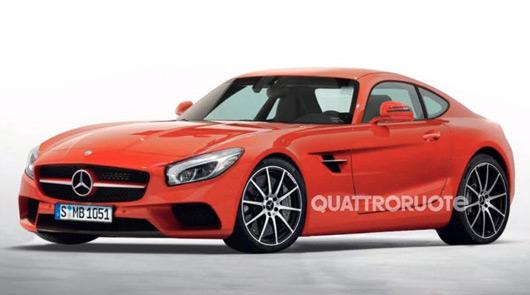 Mercedes-Benz AMG GT leaked image