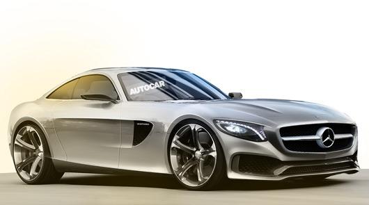 Mercedes-Benz GT AMG rendering