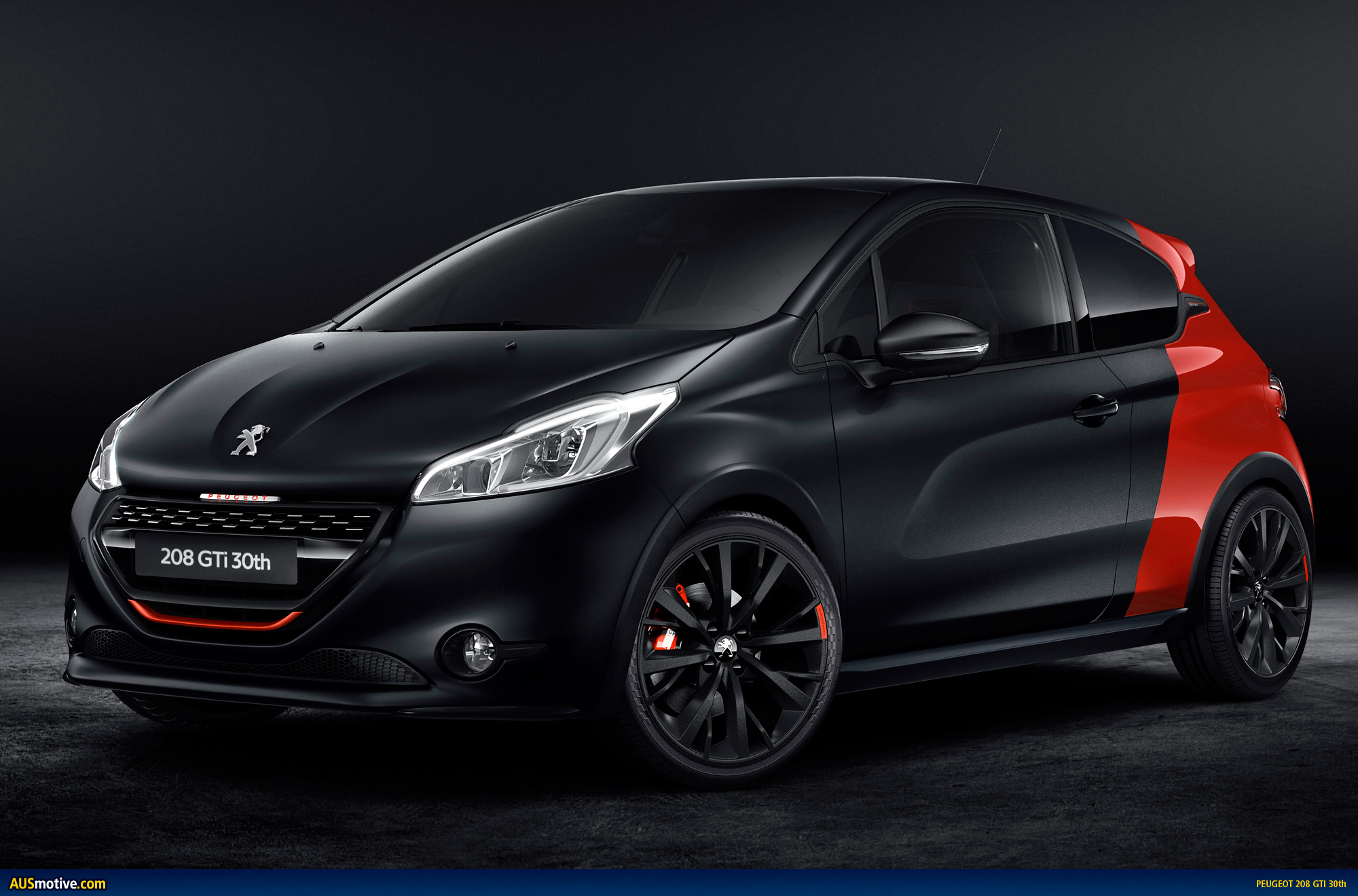 peugeot 208 gti 30th anniversary revealed. Black Bedroom Furniture Sets. Home Design Ideas