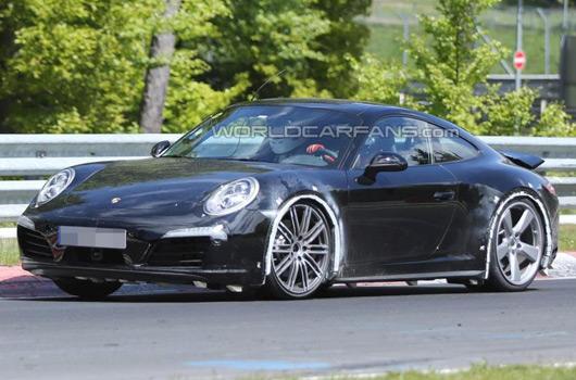 Porsche 911 Carrera GTS prototype