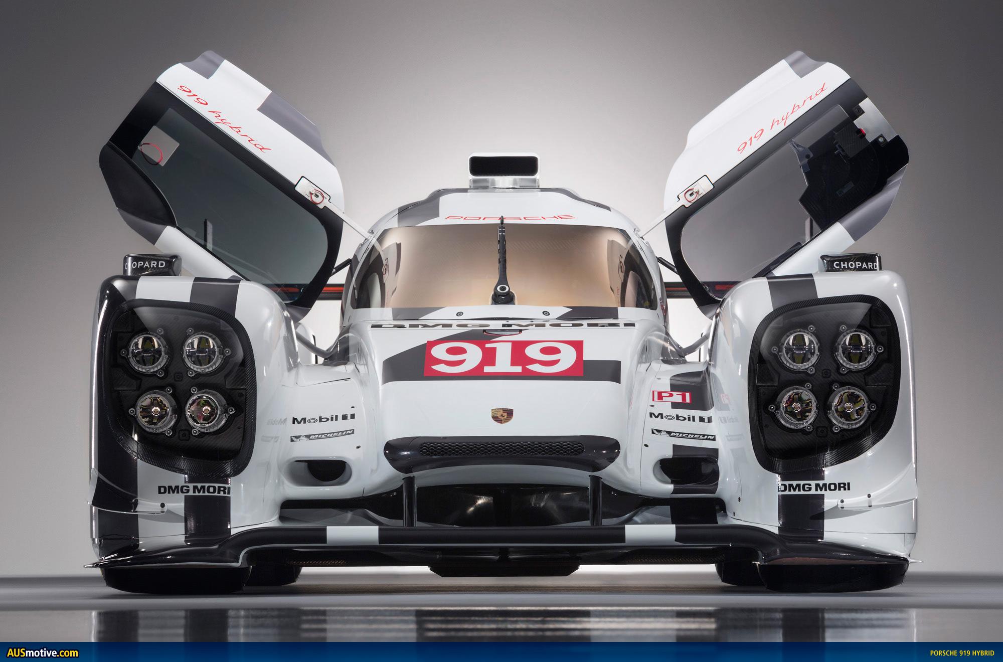 Ausmotive Com 187 Geneva 2014 Porsche 919 Hybrid Amp 911 Rsr