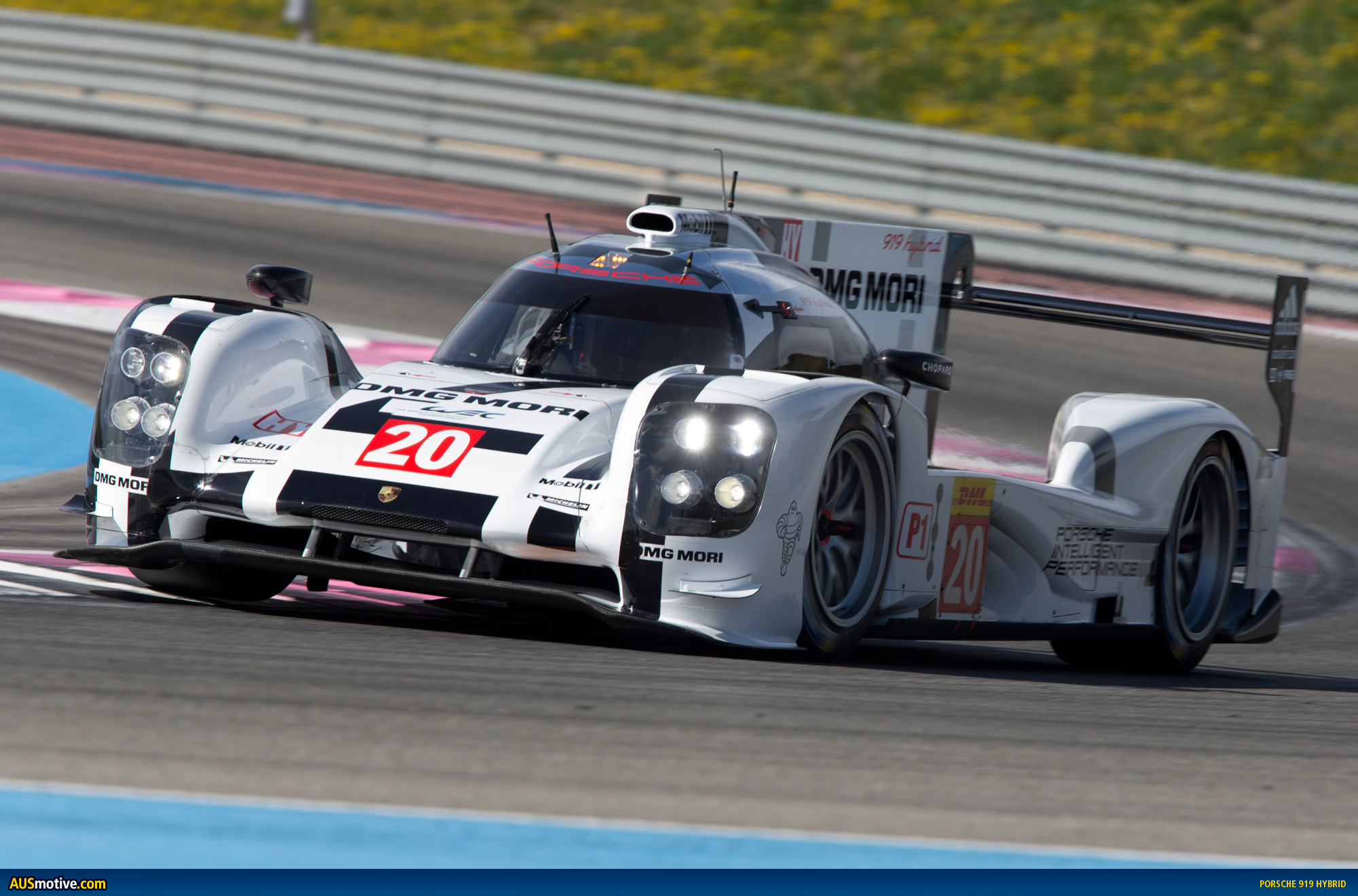 porsche 919 ready for prologue test. Black Bedroom Furniture Sets. Home Design Ideas