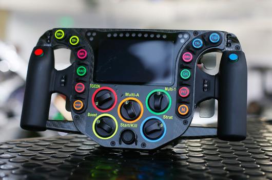 Porsche 919 steering wheel