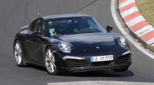 Porsche 911, 991.2 prototype