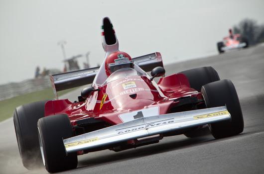 Rush movie replica Niki Lauda Ferrari