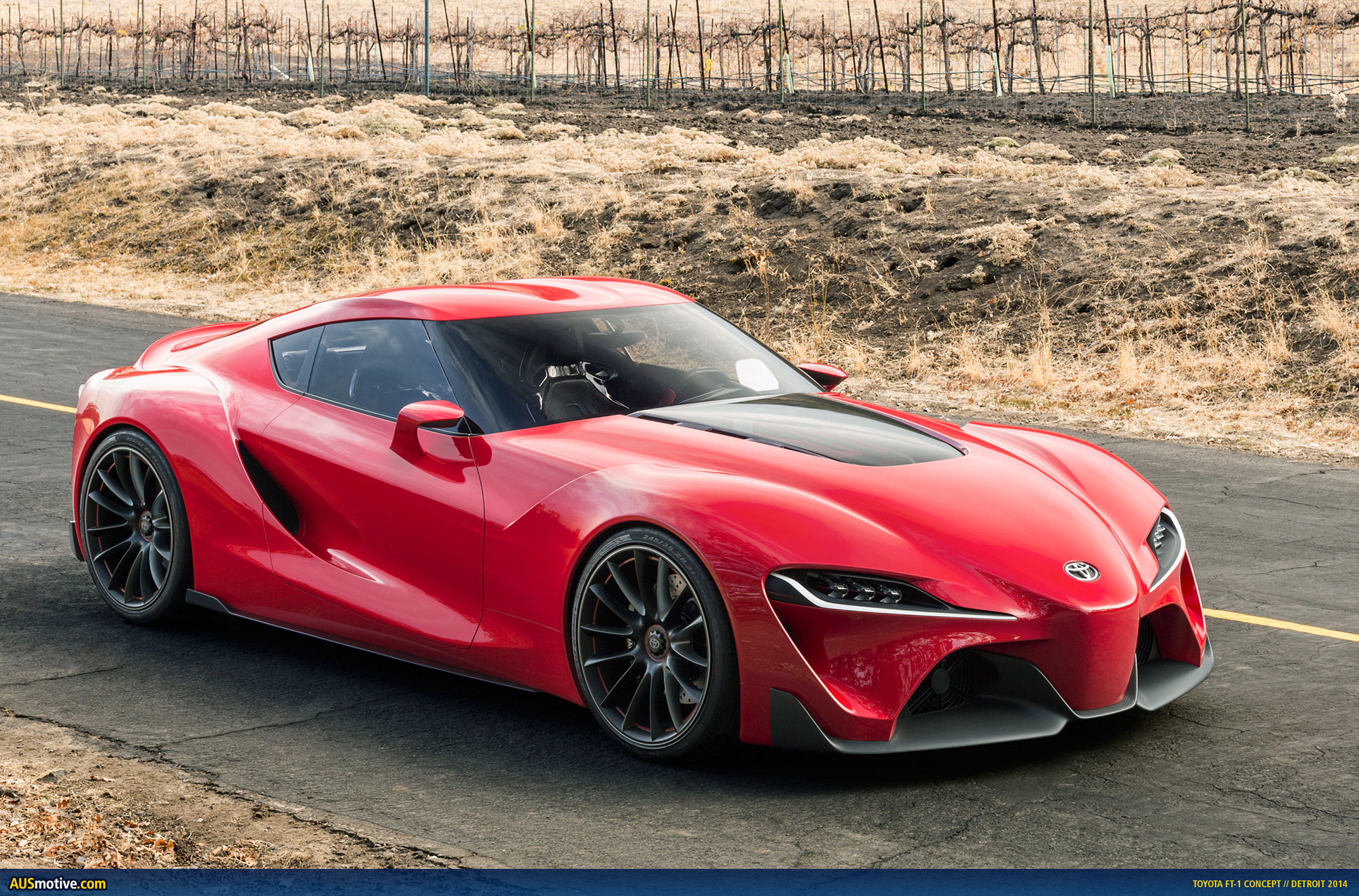 Toyota Ft 1 Engine >> AUSmotive.com » Detroit 2014: Toyota FT-1 concept