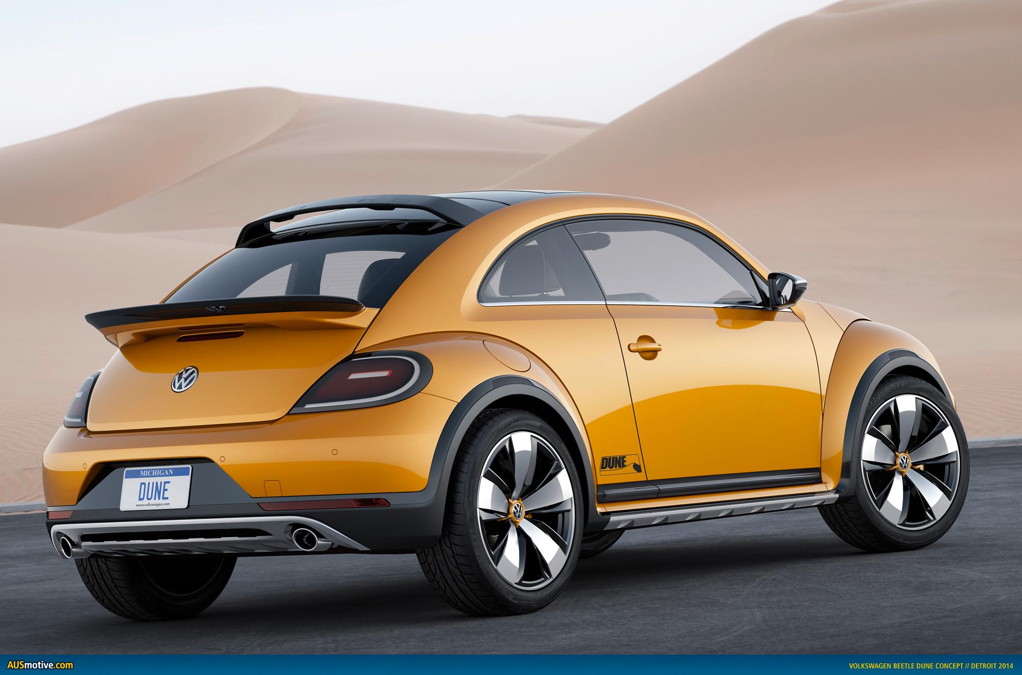 Vw Beetle Track Car >> AUSmotive.com » Detroit 2014: Volkswagen Beetle Dune concept