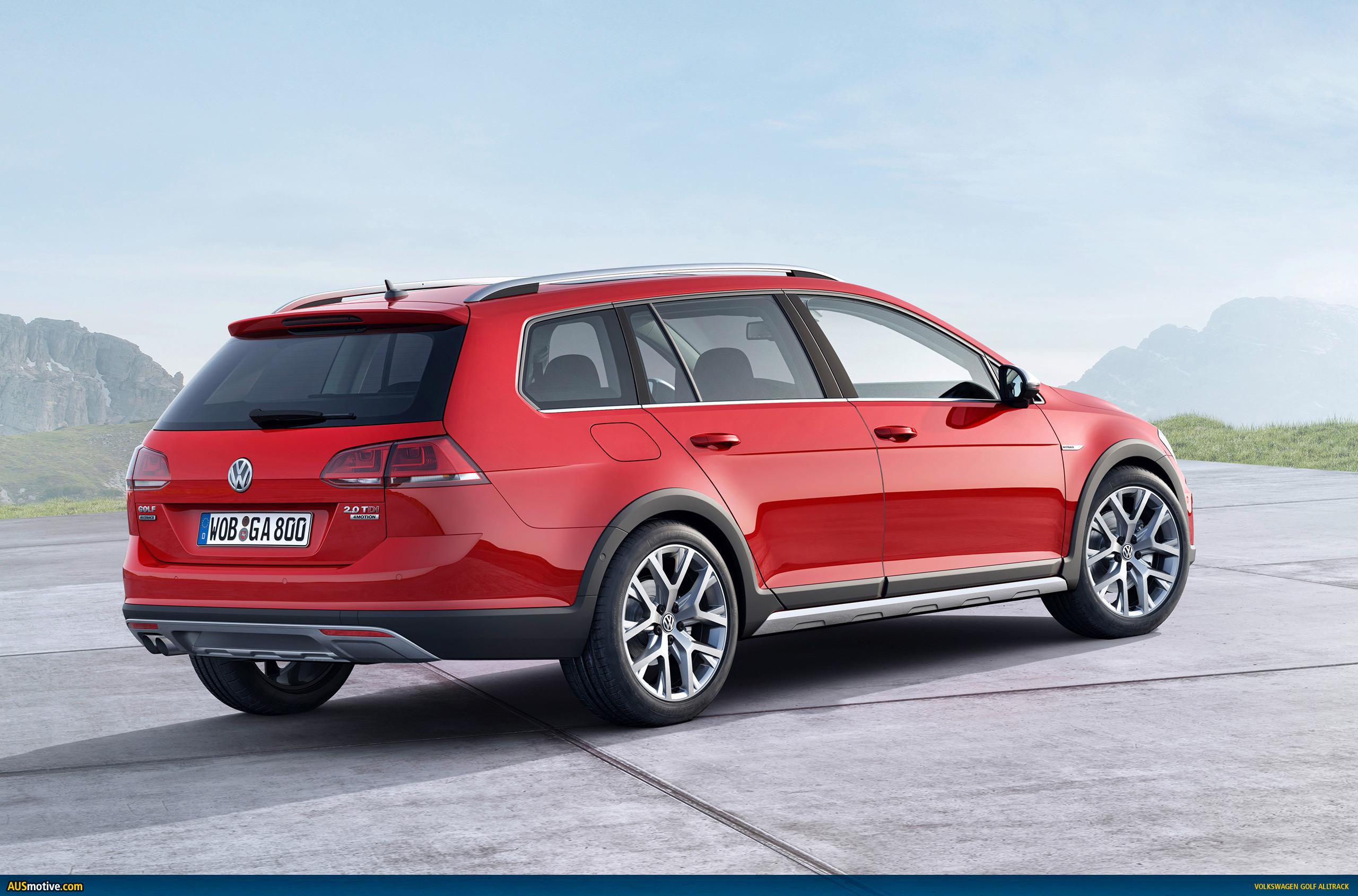 Ausmotive Com 187 Volkswagen Golf Alltrack Revealed