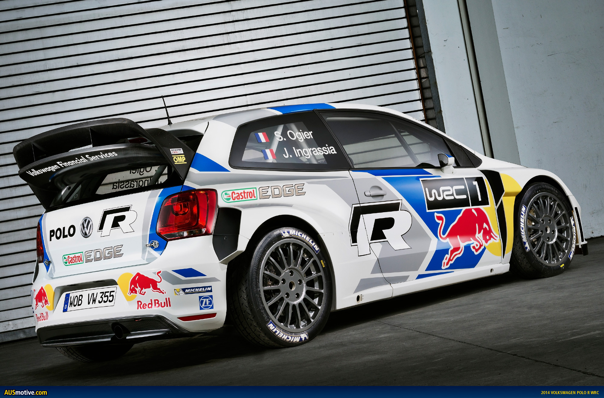 volkswagen ready for 2014 wrc title defence. Black Bedroom Furniture Sets. Home Design Ideas