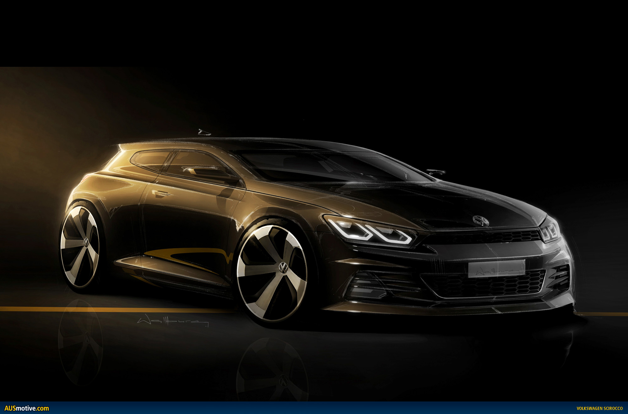 AUSmotivecom  Volkswagen gives new Scirocco R more power