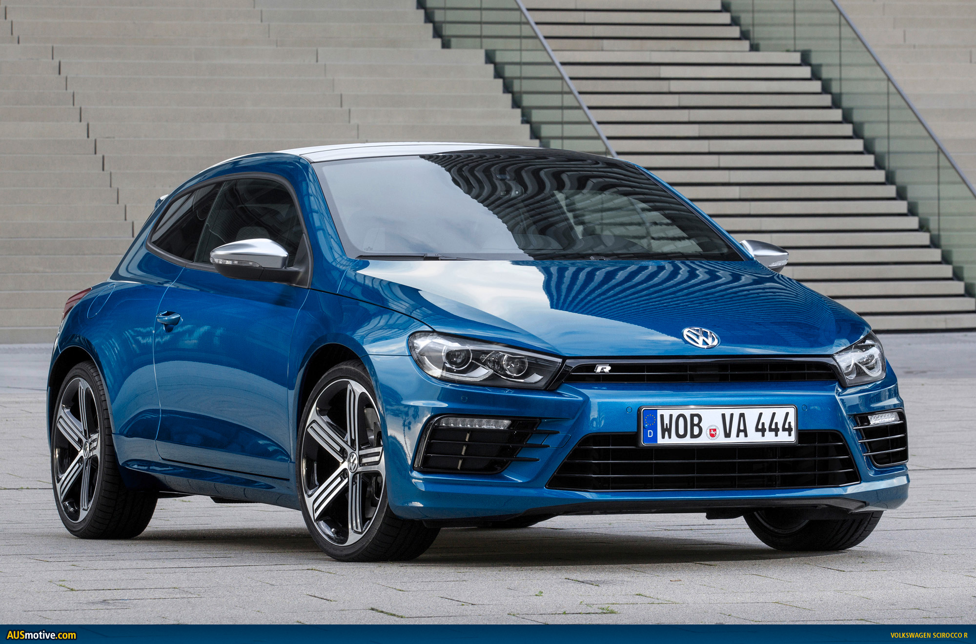 AUSmotive.com » Volkswagen Gives New Scirocco R More Power