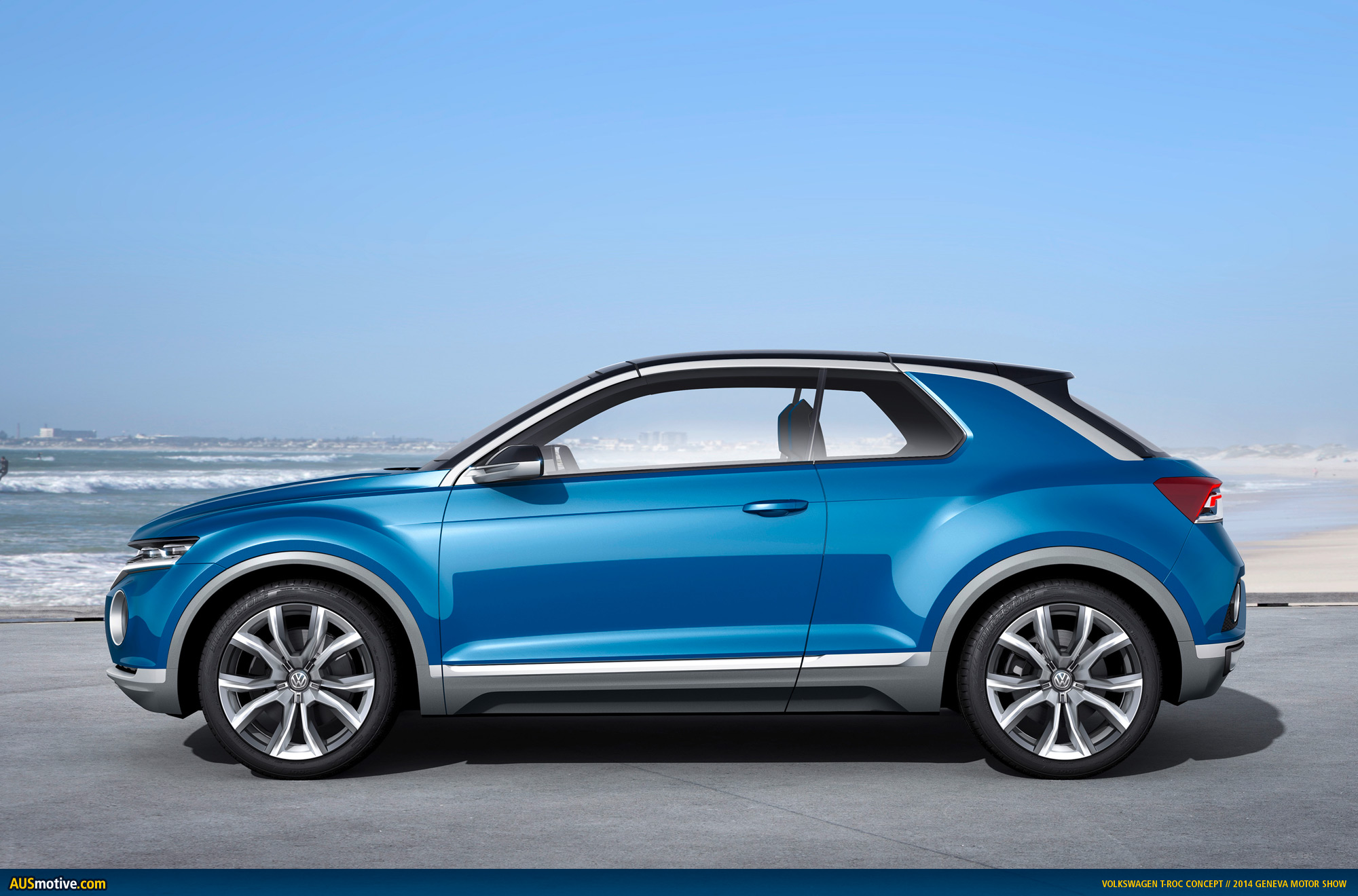 Ausmotive Com 187 Geneva 2014 Volkswagen T Roc Concept