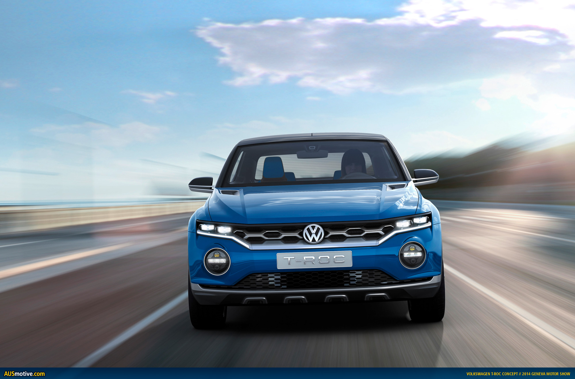 geneva 2014 volkswagen t roc concept. Black Bedroom Furniture Sets. Home Design Ideas