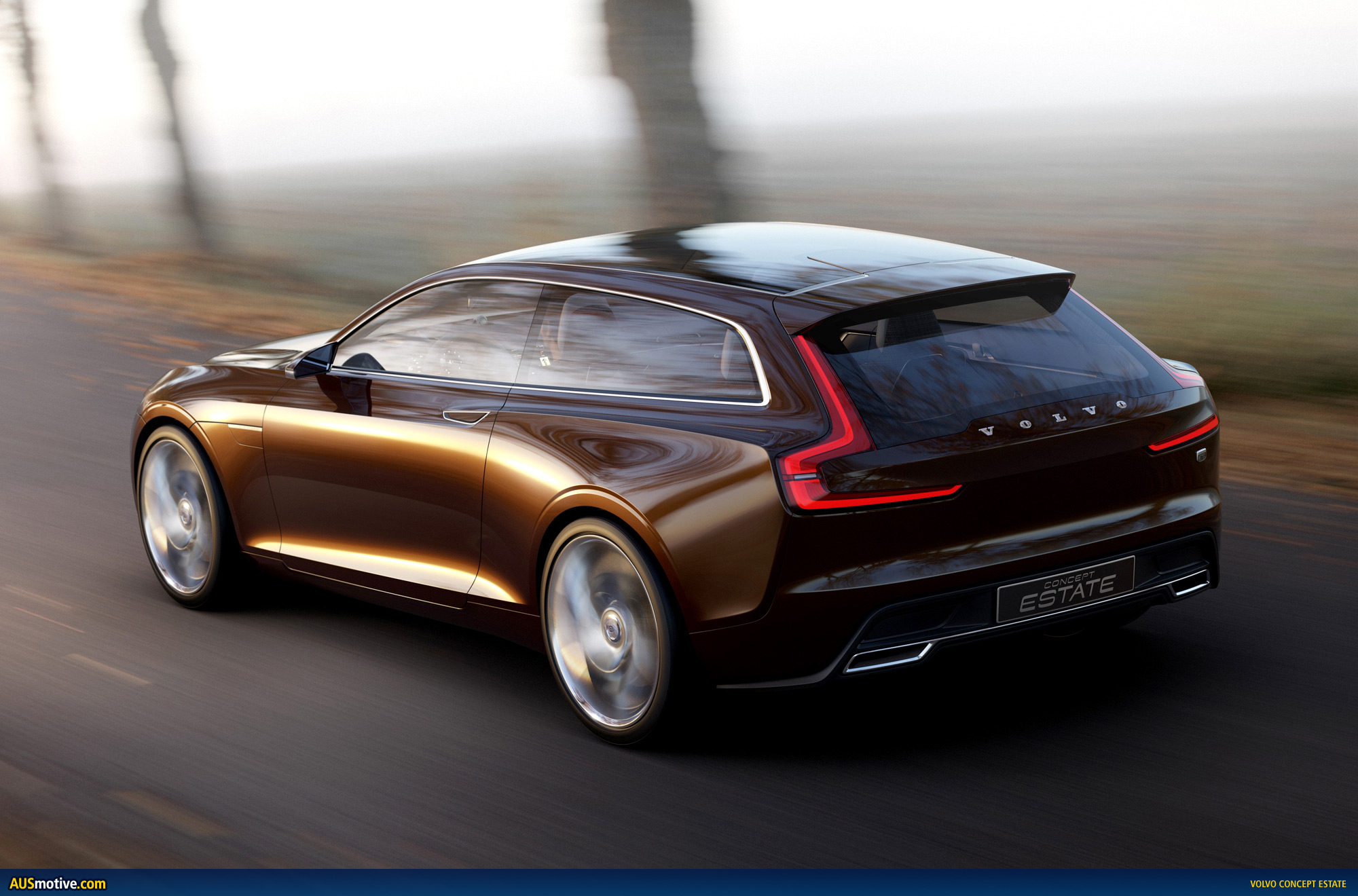Ausmotive Com 187 Volvo Concept Estate Revealed