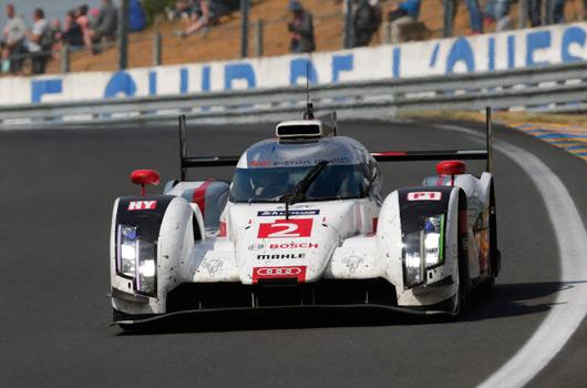 Audi R18 e-tron quattro wins 2014 Le Mans