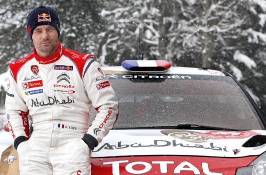 Sebastien Loeb, 2013 Rallye Monte-Carlo