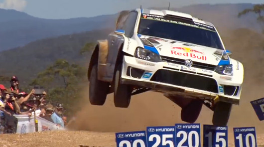 2014 Rally Australia video highlights