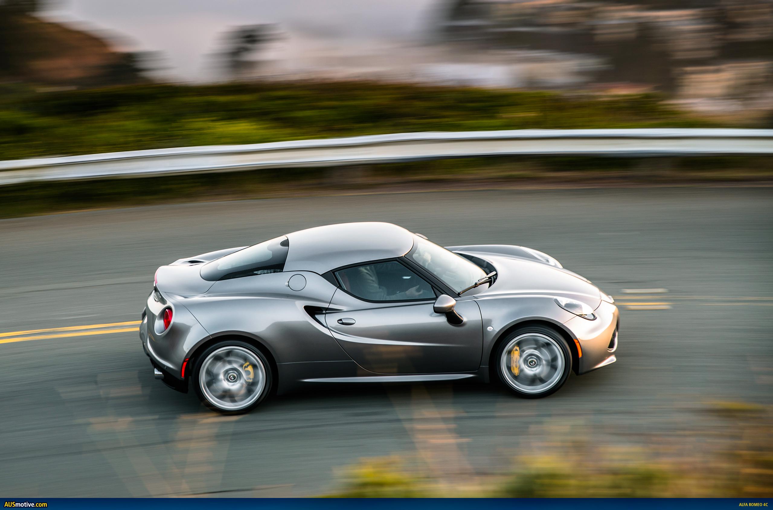 AUSmotive.com » Alfa Romeo 4C – Australian pricing & specs
