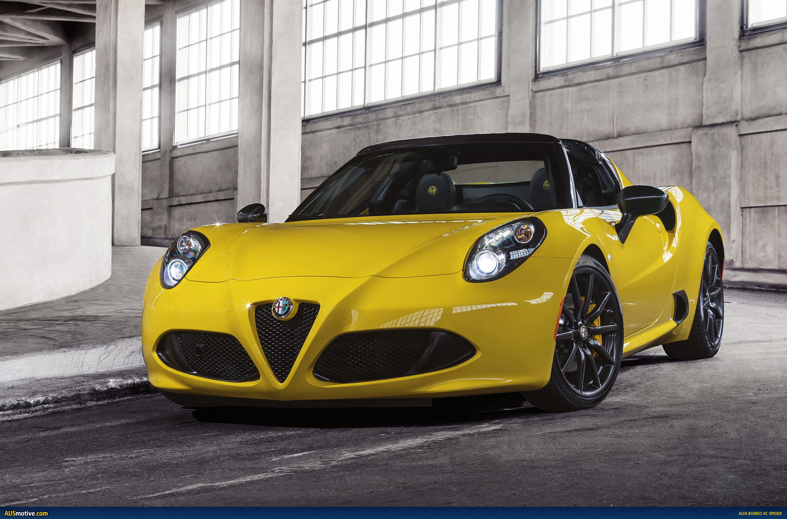 alfa romeo 4c spider confirmed for australia. Black Bedroom Furniture Sets. Home Design Ideas