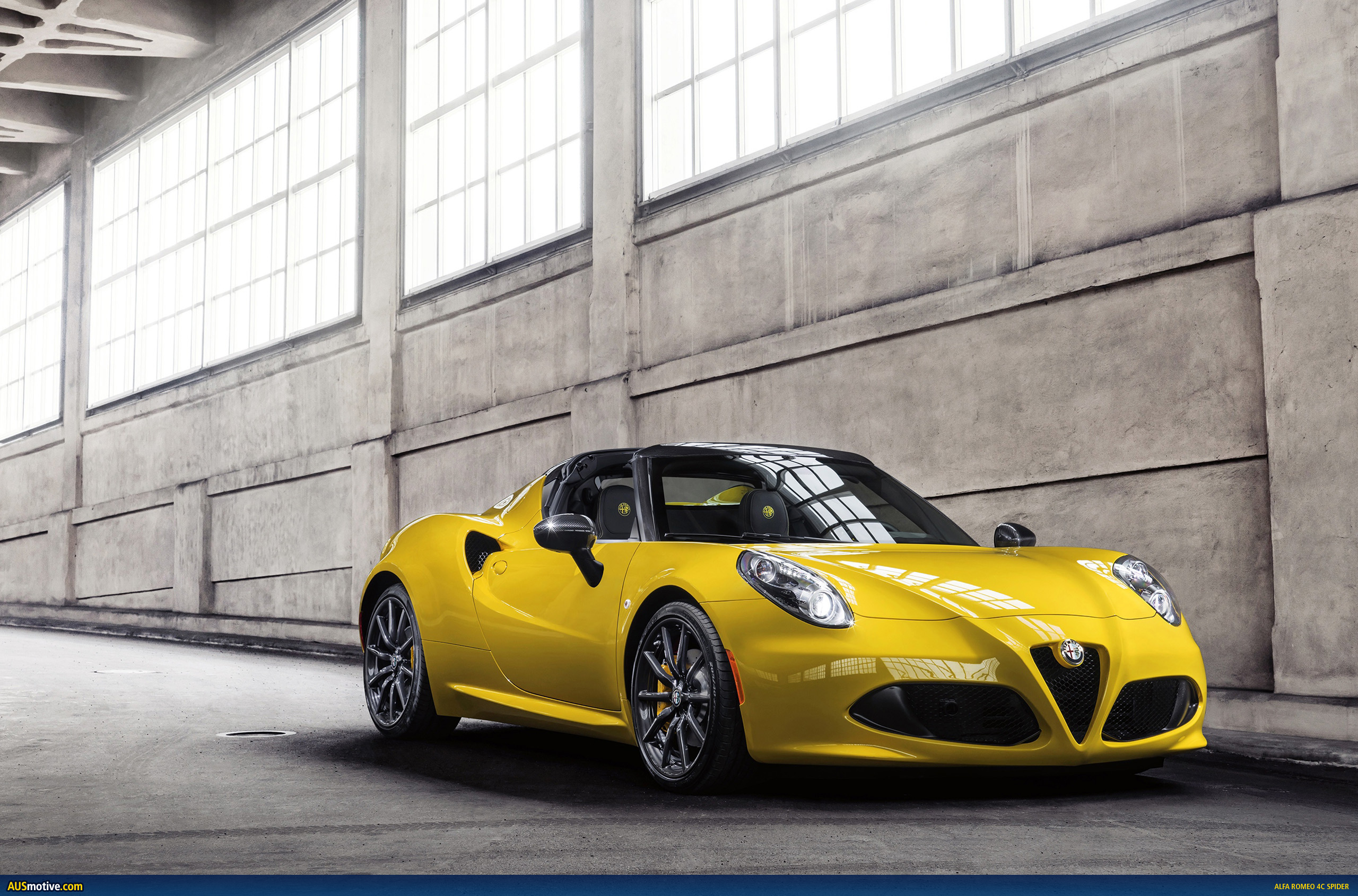detroit 2015 alfa romeo 4c spider. Black Bedroom Furniture Sets. Home Design Ideas