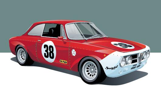 Alfa Romeo GTAm by Arthur Schening