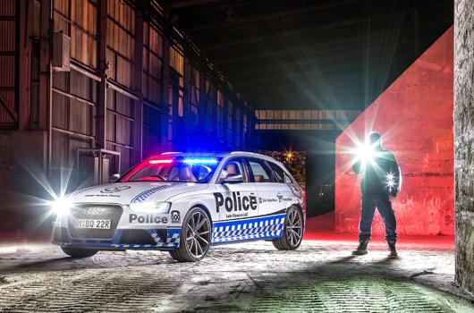 NSW Police Audi RS4 Avant