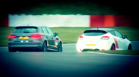Audi S3 v Renault Megane Trophy R