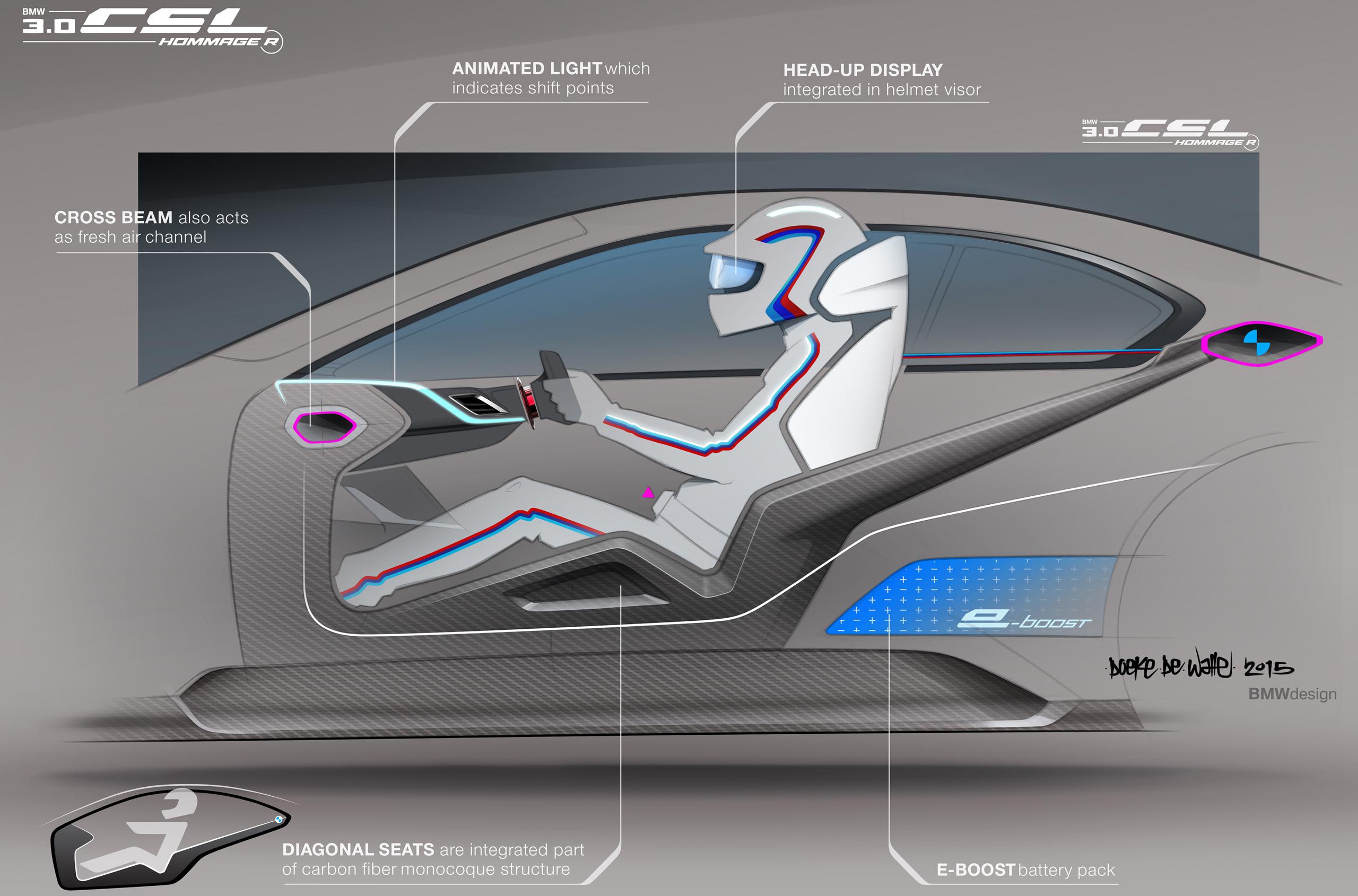 AUSmotive.com » BMW 3.0 CSL Hommage R revealed