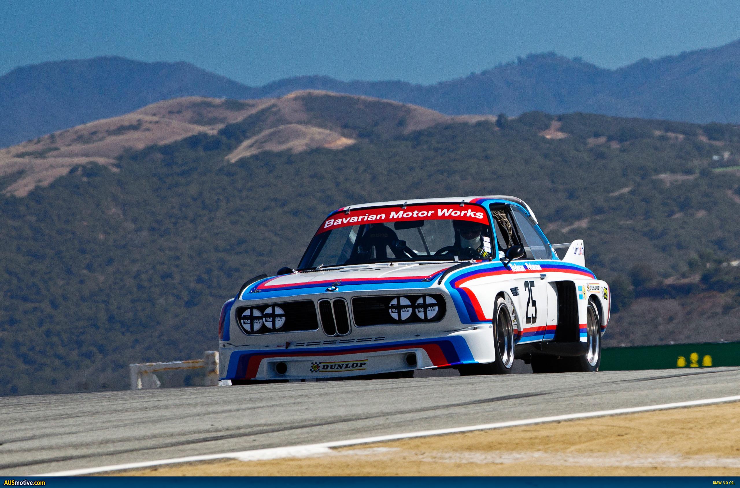 Mazda Raceway Laguna Seca >> AUSmotive.com » BMW Motorsport icons never die