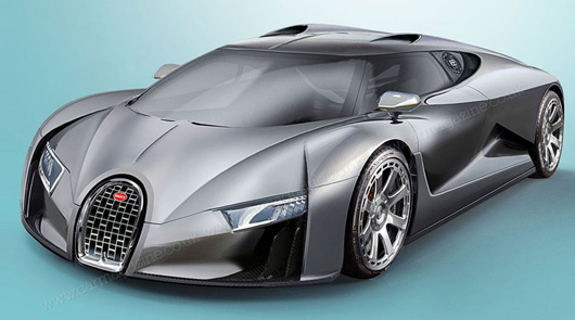 2016 Bugatti Chiron rendering