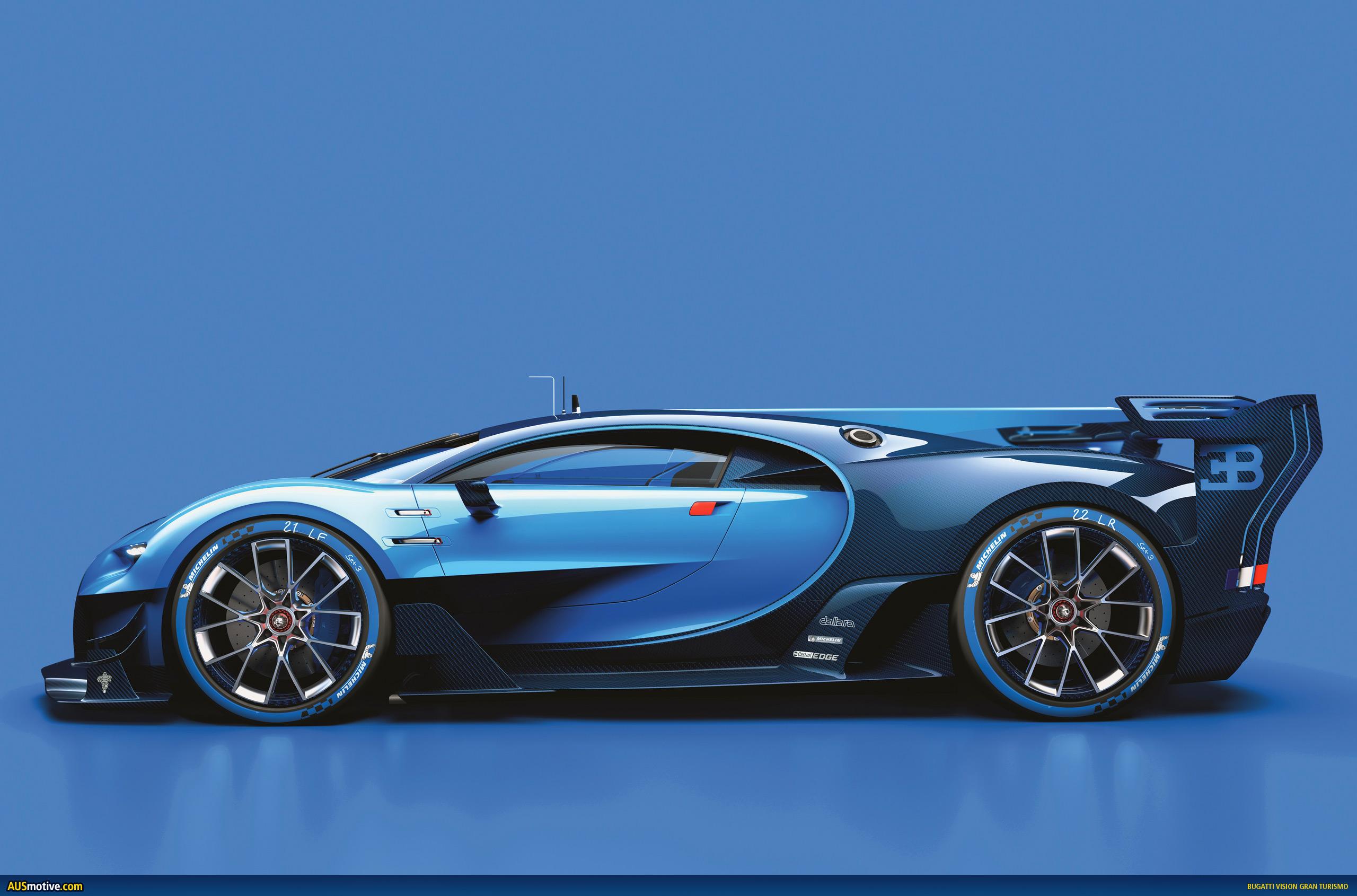 Bugatti Veyron Going Back To The Future Art Promo: AUSmotive.com » Bugatti Chiron Previewed In Gaming Fantasy?