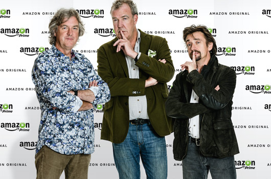 Clarkson, Hammond and May sign with Amazon Prime
