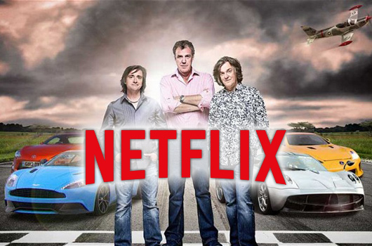 Clarkson, Hammond and May to Netflix