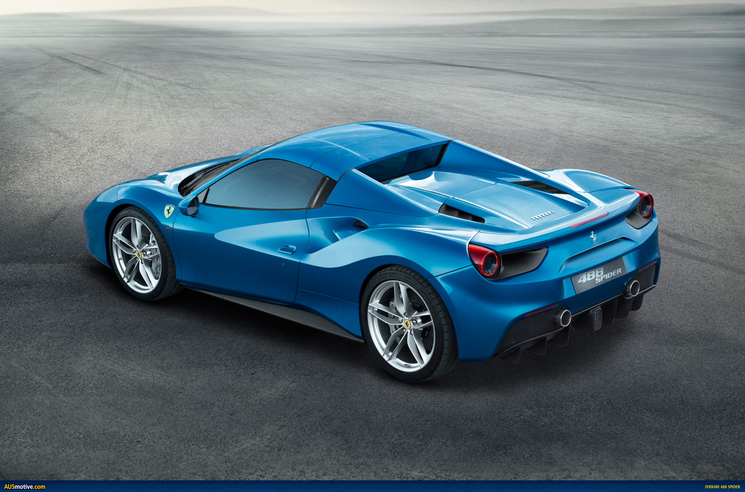AUSmotive.com » Ferrari 488 Spider Revealed