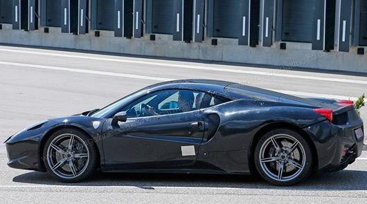 Ferrari Dino spied