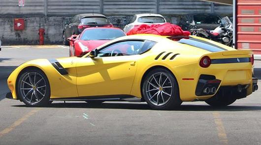 Ferrari F12 Speciale spied August 2015